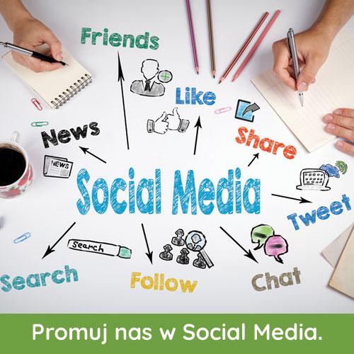 Promuj nas w Social Media