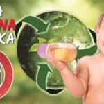 Szklana butelka dla niemowlaka