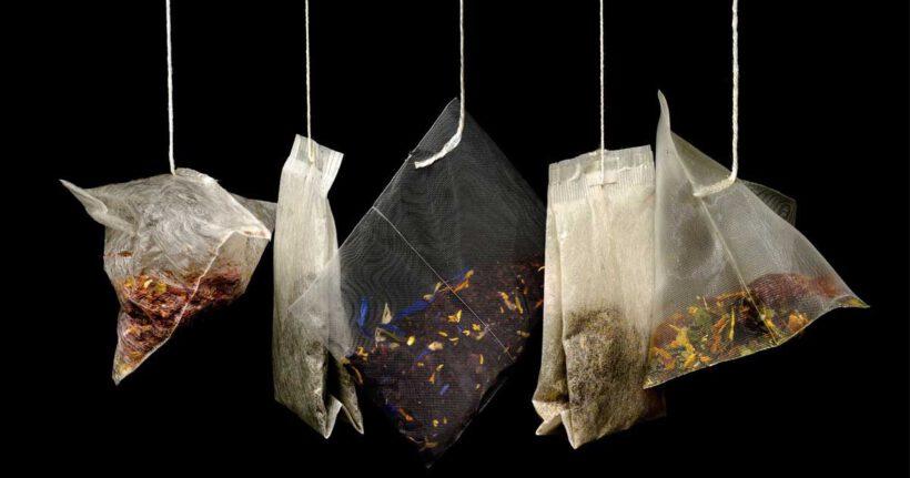 Plastikowa herbata i pranie